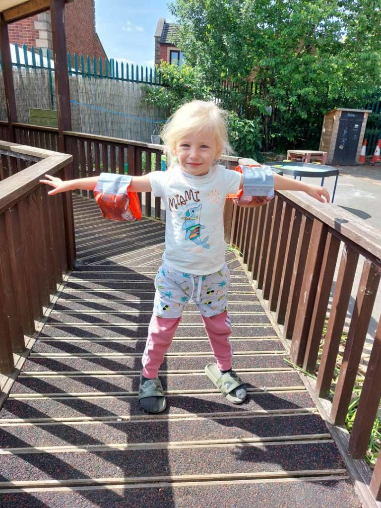 PSED EYFS Activities Armbands
