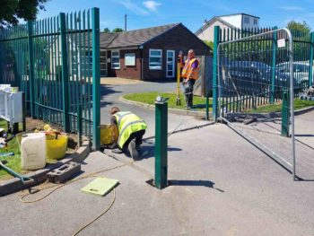 Old Bank Academy Improve safeguarding with automated gates
